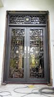 Кованые железные дверные рамы Ворота кованые Передние ворота кованые дверные замки