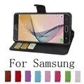 Для Samsung Galaxy J5 J7 j3 j2 j1 Мини Премьер ON7 ON5 Появляются 2017 A7 A5 A3 A720 A520 A320 Бумажник Флип PU Leather Case Cover новый