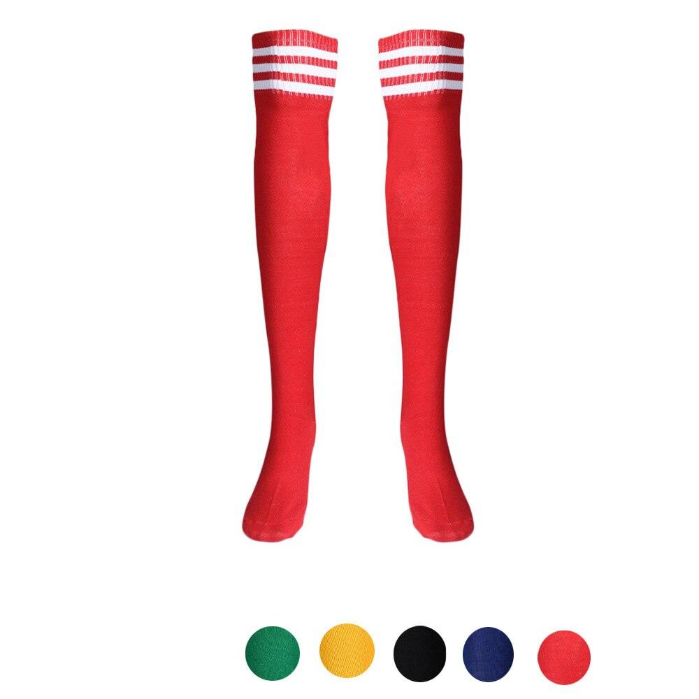 Feitong Женская мода высокие Носки для девочек пикантные теплые хлопок над гетры в полоску activewear с длинным Чулки для женщин для леди Обувь для д...