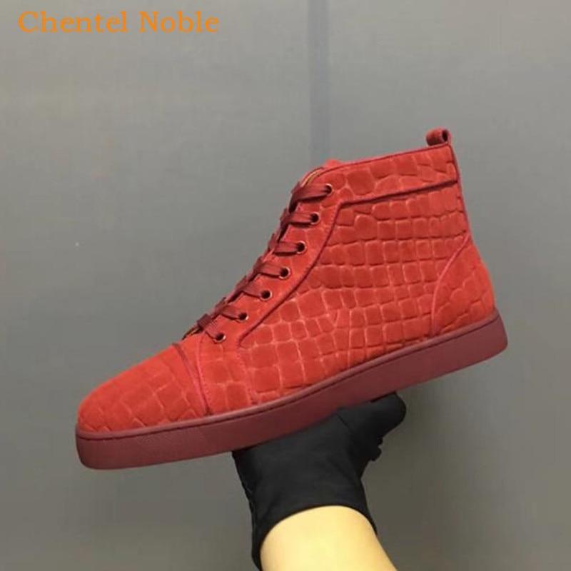 as Hombres Picture Marca Aire Zapatos Crin Picture Rojo As Lujo Negro Al Chentel Gamuza Y Zapatillas De Caminar Color Libre Para Lace Up Noble qnfFCqwBT