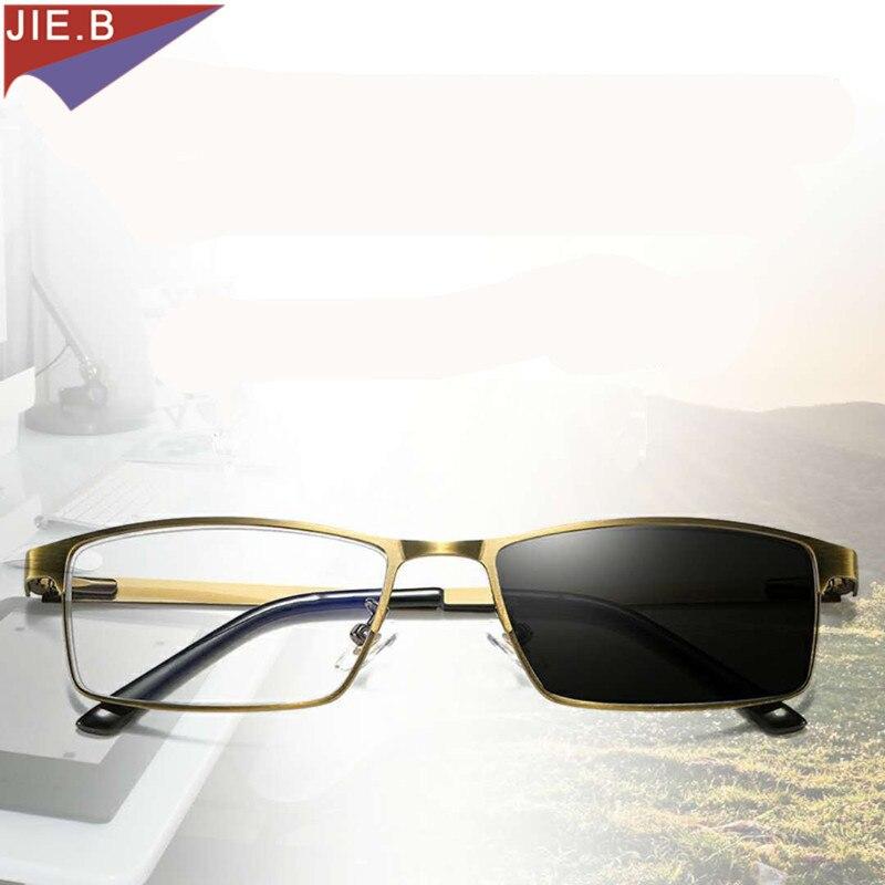 1,00 Bis 4,00 Auf Der Ganzen Welt Verteilt Werden Zielsetzung 2018 Neue Sonnenbrille Übergang Rahmen Photochrome Lesebrille Männer Frauen Hyperopie Dioptrien Presbyopie