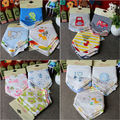 New 2016 High Quality Moms Care Brand Newborn Baby Bibs Waterproof Kids Girls Boys Cotton Triangle Children Feeding Accessories