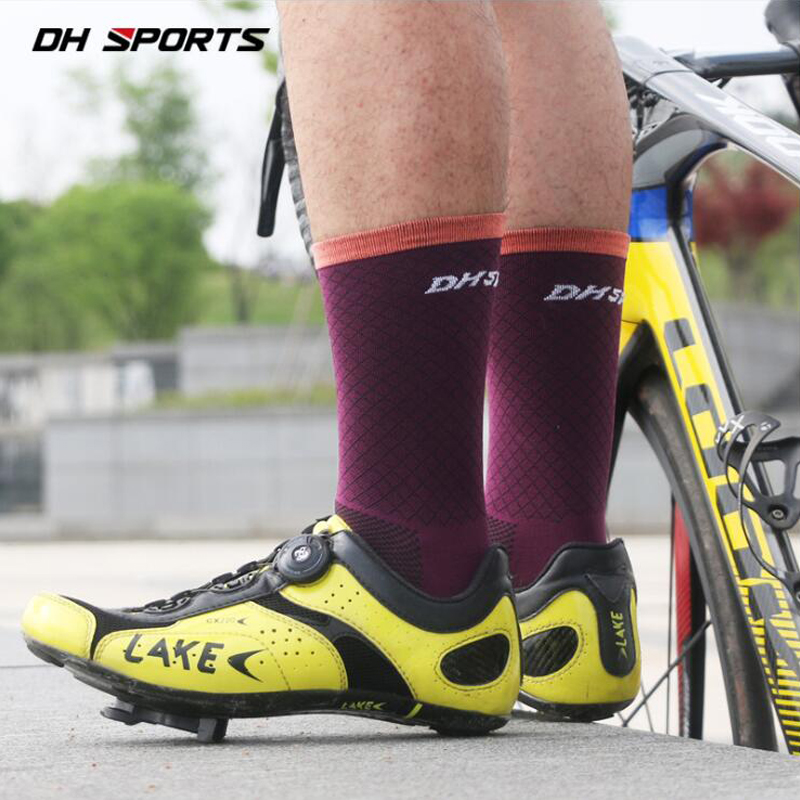 2018 New Cycling Socks Men Women Professional Breathable Sports Bike Socks Top Quality Wear-resistant Deodorant Socks Activating Blood Circulation And Strengthening Sinews And Bones