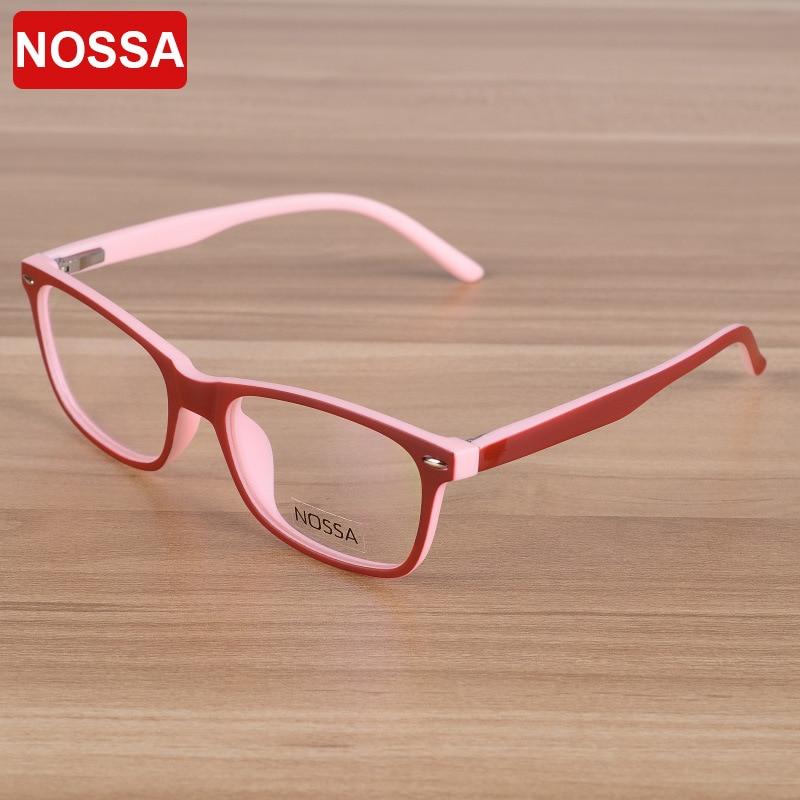 NOSSA Classic Point Barn Optiska glasögon Ram Barn Glasögon Glasögon Pojkar Flickor Myopia Spektakelramar Klara glasögon