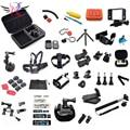 GoPro accesorios 50 en 1 Kit Familia GoPro accesorios GoPro paquete de accesorios para gopro hd hero 4 3 + 3 2 envío gratis
