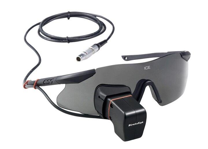 ФОТО pirateeye vga 640*480 lcd fpv monocular video glasses goggle dar