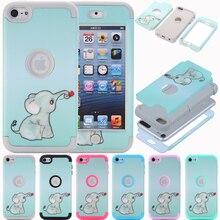 Funda para iPod Touch funda para iPod 6 funda para iPod Touch 7 funda protectora resistente de alto impacto funda híbrida para iPod 5 6 generación