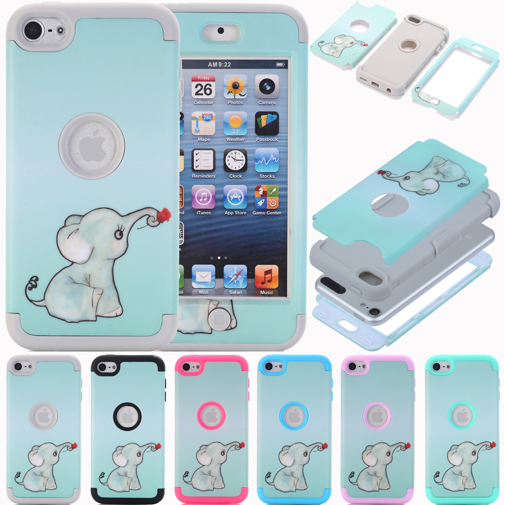 iPod Touch Case 6 7 Heavy Duty Protective High Impact Hybrid Cover for 5 6th 7th Generation
