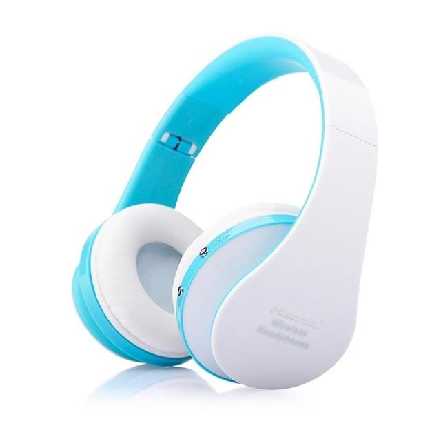 Hisonic Bluetooth Headset Wireless Headphones Stereo Foldable Sport Earphone Microphone headset bluetooth earphone SUN8252