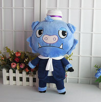 Happy Tree Friends HTF Truffles 15.7 inches Anime Blue Pig Stuffed & Plush Cartoon Doll