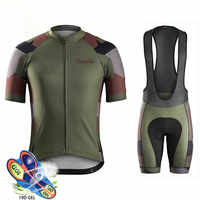 2019 Ralvpha Summer Cycling Jersey Set Breathable MTB Bicycle Cycling Clothing Mountain Bike Wear Clothes Maillot Ropa Ciclismo