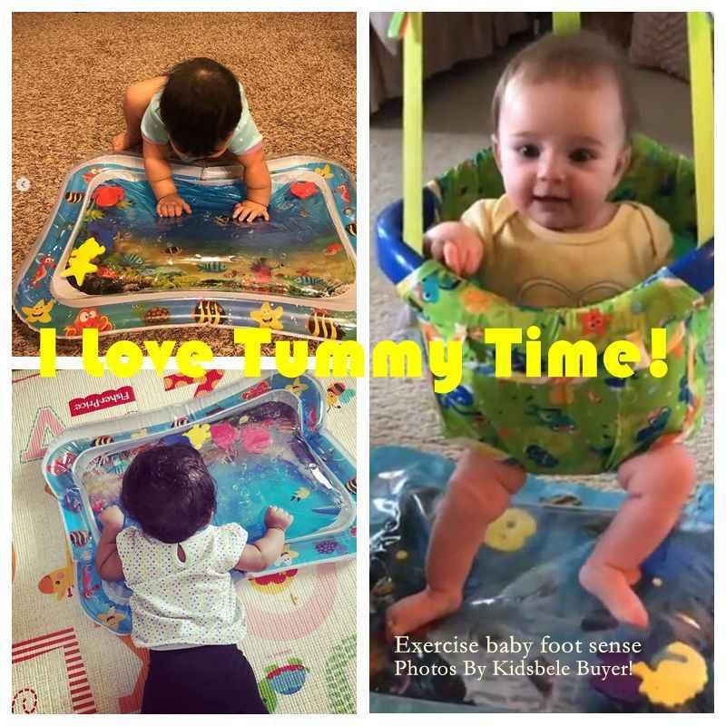 Alfombra de juegos de agua para bebé, juguetes para el abdomen para recién nacidos, Alfombra de PVC para niños pequeños, colchoneta inflable para actividades, juguetes infantiles, alfombra Seaworld