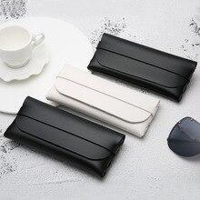 Portable Sunglasses Case Durable Glasses Box For Women Cassette Eyeglass Men PVC Leather Bag