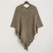autumn and winter women poncho caps solid soft cashmere-imitation coat female echarpe knitted pashmina bandana scarves