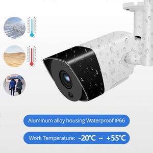 Image 2 - Wetrans kablosuz güvenlik kamera sistemi NVR Wifi 8CH H.265 1080P HD Video gözetim 2MP açık CCTV kiti IP ses kamera seti