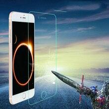 100 teile/los 9H HD Gehärtetem Glas Für iphone 11 pro X XS Max XR 6 6s 7 8 plus 5s SE Glas