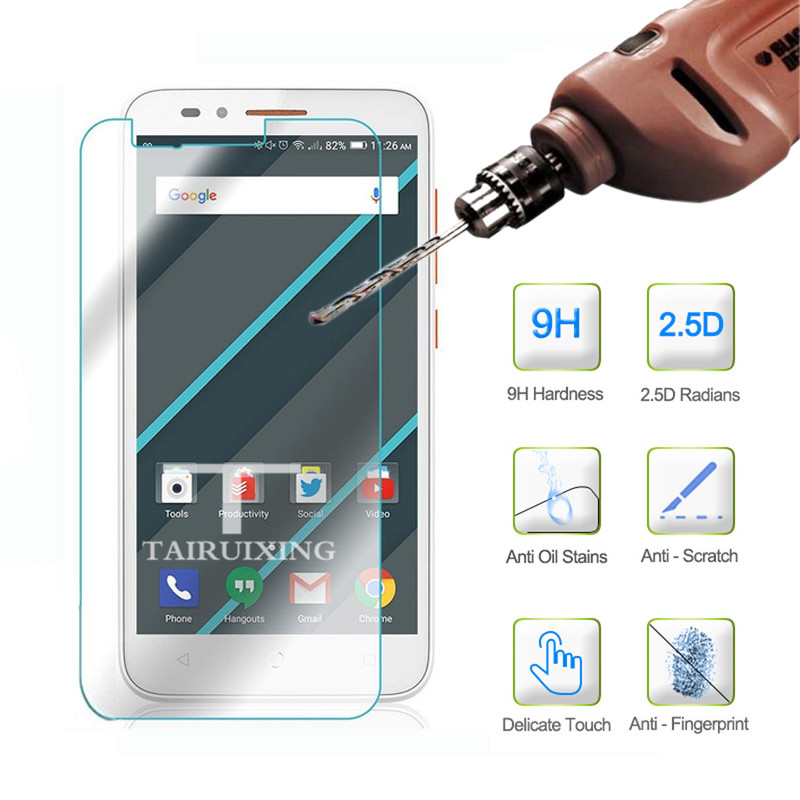 9H Tempered Glass For For Alcatel One Touch Go Play Screen Protector Protective Film Guard On Onetouch <font><b>7048X</b></font> 4G LTE For Go Play image