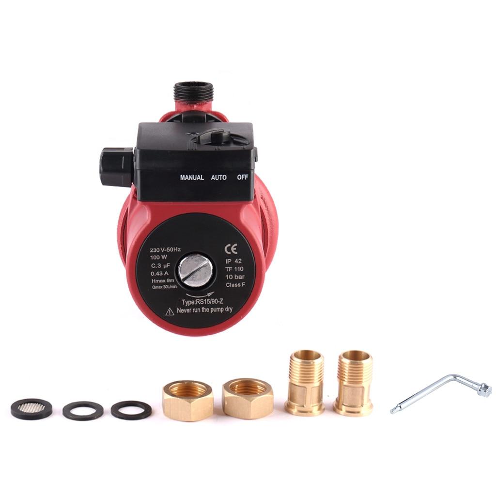 SHYLIYU 230V Hot Water Central Heating Circulation Boost Pump 3/4