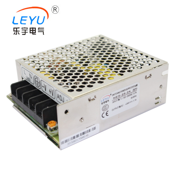 NES-25-48 switching model power supply 85-264VAC Universal AC Input full range  25W 48V 0.57A  power supply meanwell 12v 350w ul certificated nes series switching power supply 85 264v ac to 12v dc