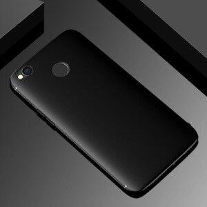 Image 1 - Funda de silicona para Xiaomi Redmi 4X, carcasa suave equipada de TPU con superficie mate a prueba de golpes para Xiaomi Redmi 4X