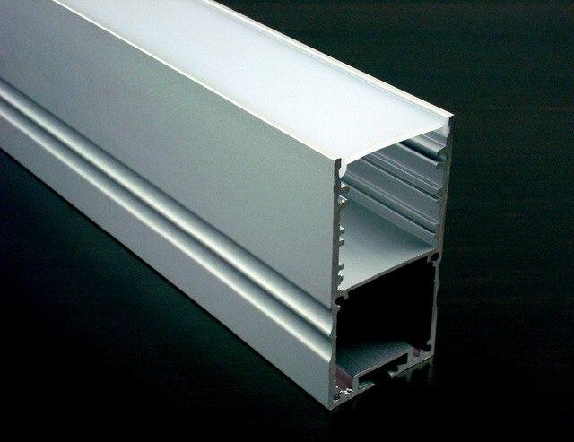 50x1 mt 3050 aluminiumprofil mit SATINIERTER abdeckung spiel breite ...