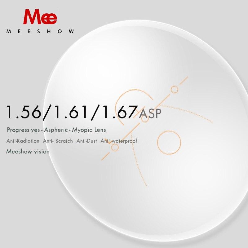 1.56 1.61 1.67 1.74  Progressive Lens CR 39 Resin Aspheric Glasses Lenses Myopia Hyperopia multifocus Optical Lens-in Eyewear Accessories from Apparel Accessories