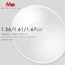 1.56 1.61 1.67 1.74 ilerici Lens CR 39 reçine asferik gözlük lensler miyopi hipermetrop multifocus optik Lens