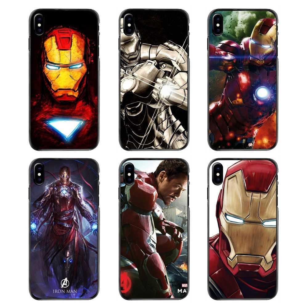 Телефон охватывает Мстители супергероя Железный человек Роберт Дауни мл. Для Samsung Galaxy A3 A5 A7 A8 J1 J2 J3 J5 J7 премьер 2015 2016 2017
