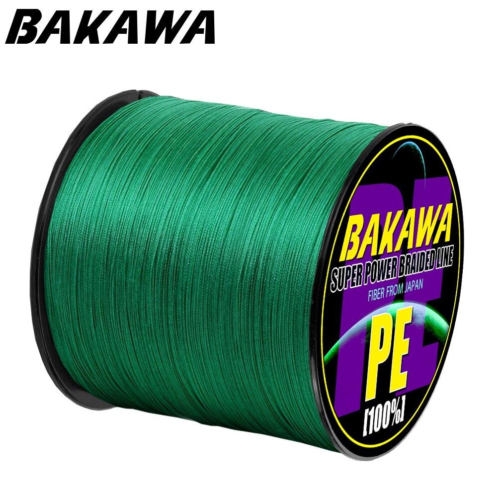BAKAWA 4 плетеная леска Длина: 300 м/330yds диаметр: 0,2 мм 0,42 мм, размер: 10 85 фунтов Япония PE плетеная леска плавающая леска|Рыболовные лески|   | АлиЭкспресс - Топ товаров на Али в мае