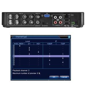 Image 3 - 960h h.264 vga hdmi segurança 4ch 8ch cctv dvr 4 canais mini dvr cctv dvr 8 canais 960h 15fps dvr rs485 ptz para câmera analógica