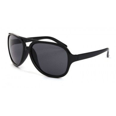 Classic Aviator Sunglasses with Thick Plastic Frame-in Sunglasses ...