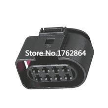 10 Sets 8 pin Original Automotive Connectors Black Waterproof Connector With Terminal DJ7085B-3.5-21 8P цена 2017