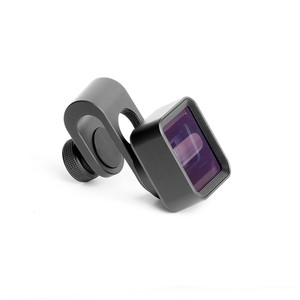 Image 2 - Upgrade Versie 1.33X Vervorming Mobiele Telefoon Lens Universele Clip Breedbeeld Film Groothoek Camera Lens voor iPhone Samsung