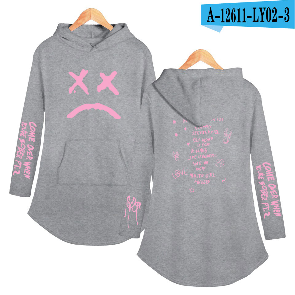 lil peep love Hoodies Sweatshirt Classic K Pop Personality Casual Sport shirt Pocket Summer Autumn Long sleeve Streetwear 18