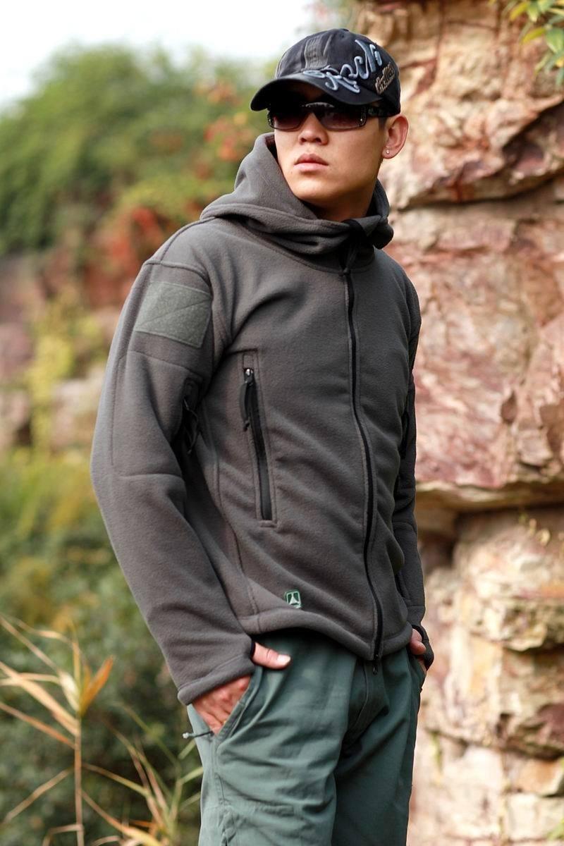 HTB1pZVlKpuWBuNjSszbq6AS7FXaC Military Man Fleece Tactical Softshell Jacket Polartec Thermal Polar Hooded Outerwear Coat Army Clothes