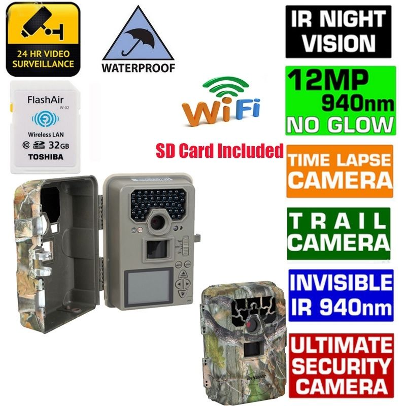 1080P 12MP Digital Hunting font b Camera b font Blueskysea SG 880V Motion Detection Infrared Wildlife