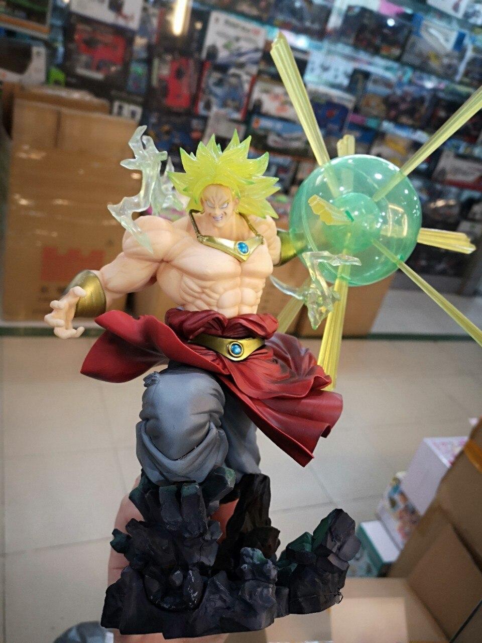 Новые горячие Dragon Ball Z фигурка F. ZERO Супер Saiyan Broli фигурку Broly ПВХ 32 см