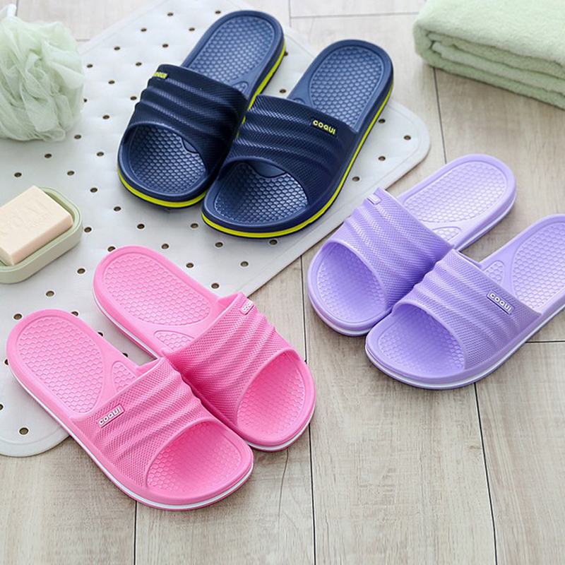 GemäßIgt Sommer Hausschuhe Frauen Rutschen Flache Ferse Plattform Sandalen Alias Frauen Schuhe Paar Liebhaber Bothe Flip-flops Zapatillas Mujer Farben Sind AuffäLlig Frauen Schuhe