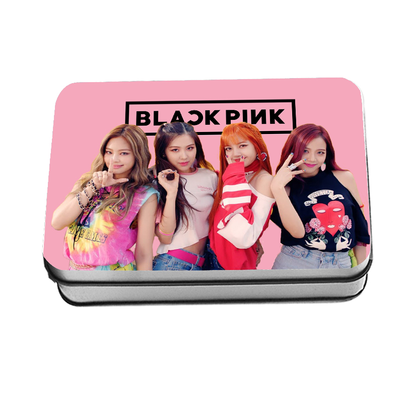 Kpop Blackpink Lomo Photo Cards Jennie Lisa Collective Photocard Rose Jisoo Poster 40pcs