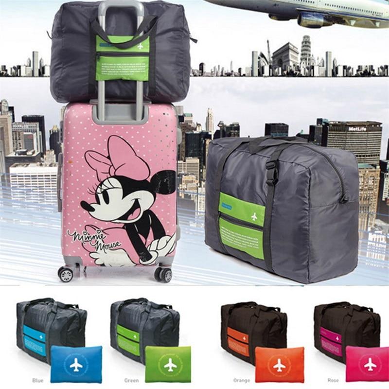 Путешествия Чемодан тележка для хранения посылка раза высокой емкости хранения нейлон сумки аксессуары водонепроницаемый