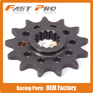 Motorcycle Front Chain Sprocket 13T For ZONGSHEN NC250 NC 250cc NC250CC KAYO T6 K6 BSE J5 RX3 ZS250GY-3 4 Valves Parts(China)