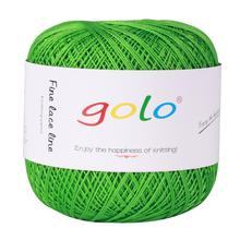 Crochet thread Size 6 Cotton Knitting Thread Balls for hand knitting crochet yarn