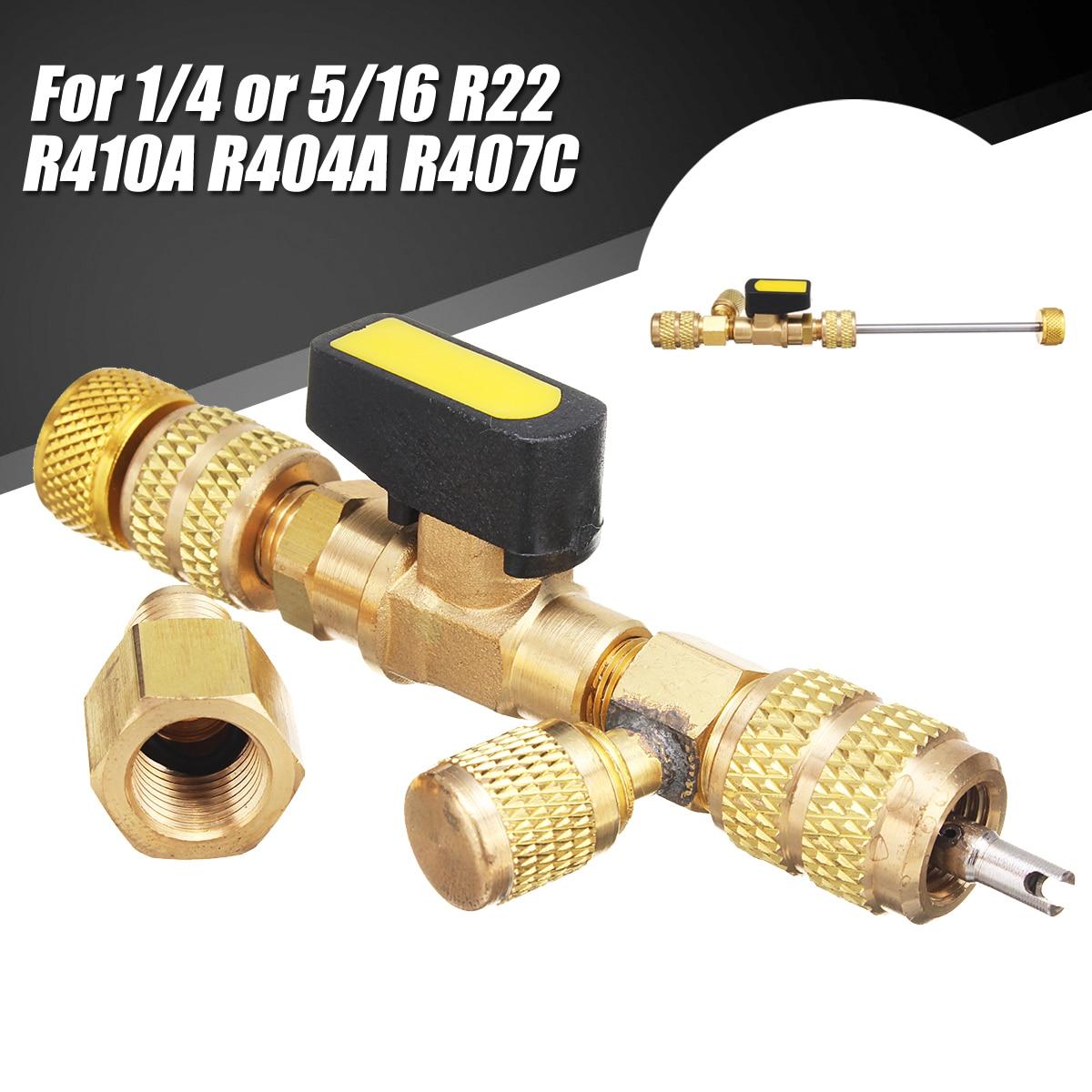 Doersupp Ventil Core Schnell Entferner Port Schalter Installer Tool Für 1/4