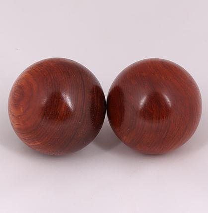 ФОТО Natural annatto myanmar spend pear big red sandalwood massager health fitness health care ball on hand massager ball