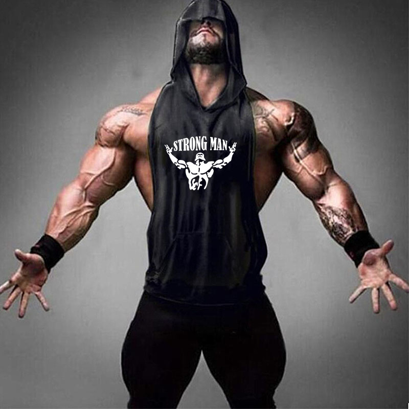 STRONG MAN black