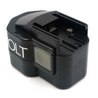 Power tool batterij voor AEG 12VA 2000 mAh Ni CD 48 11 1900 48 11 1950 48 11 1960 48 11 1967 48 11 1970  B 12  MXL 12-in Batterij pack van Consumentenelektronica op