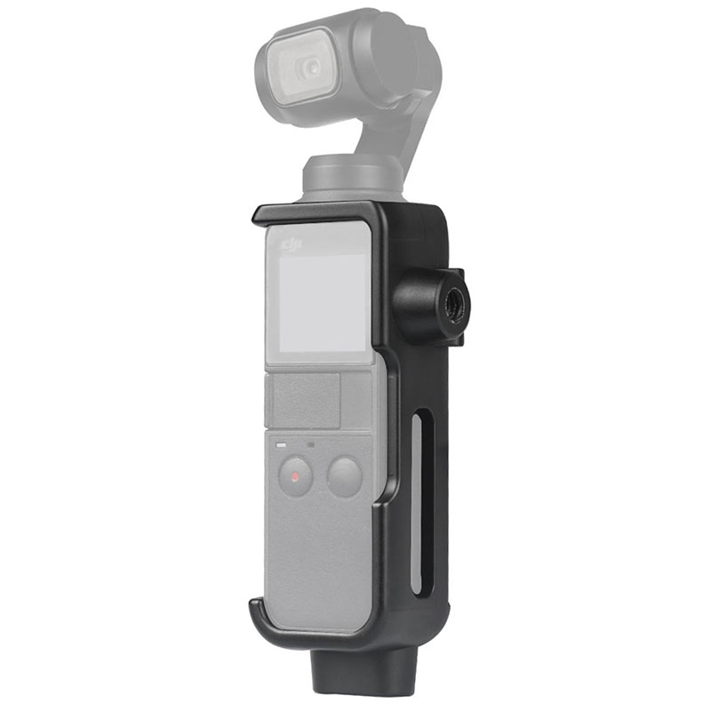 For DJI Pocket Mount Bracket Holder With 1/4 Screw Frame For DJI Osmo Pocket Camera Action Cam Mount For Tripod Selfie Stick
