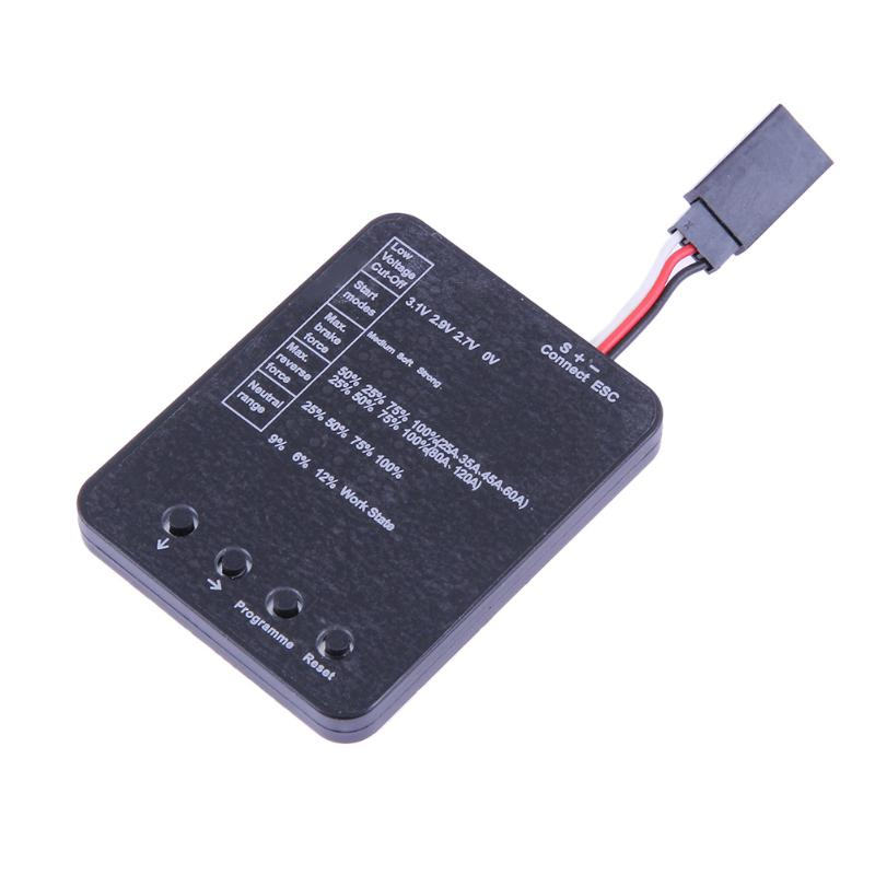 RC Toys Programming Card for ESC Brushless Electronic Electronic Speed Controller RC Parts programming scala scalability functional programming objects