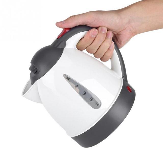 Bouteille avec chauffe eau Portable, 12V, 1000mL, pour la voiture, pour le thé ou le café, bouilloire, pour les voyages