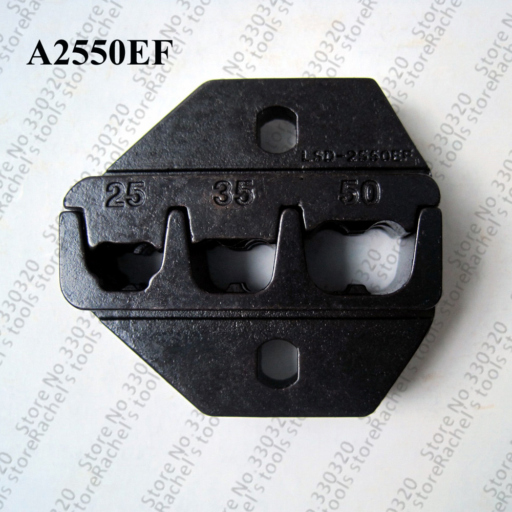 A2550ef Crimping Die Set Crimp Jaws For Cable End Sleeve